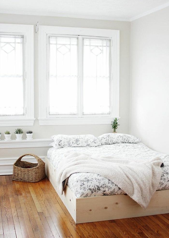 design betten komfortables bett schlichtes schlafzimmer design