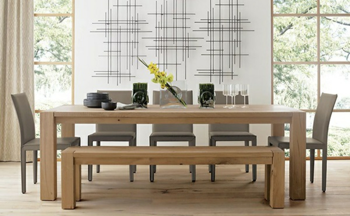 Designer Esstisch Holz : designer esstisch aus hellem holz