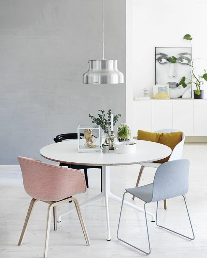 designer esstisch rund und weiß