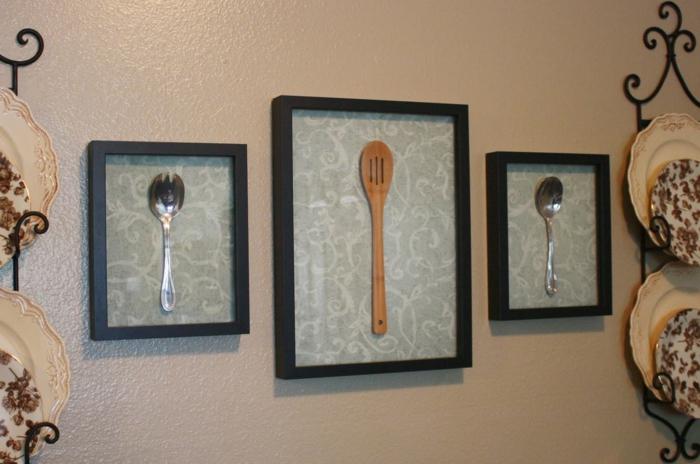 diy wohnideen wanddeko küche esszimmer küchenideen