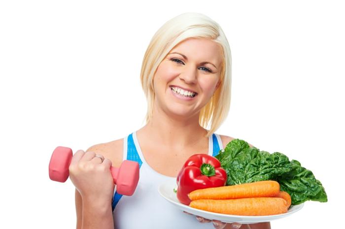 effektives abnehmen gesund essen trainieren