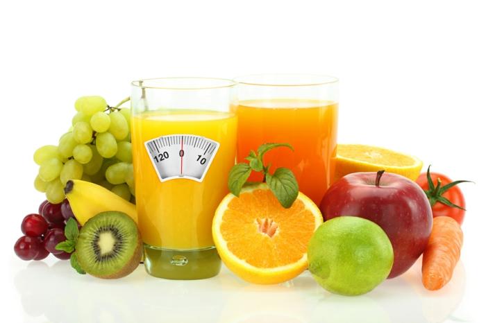 effektives abnehmen gesundes essen früchte