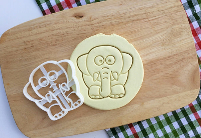 elefanten figuren für kekse backen