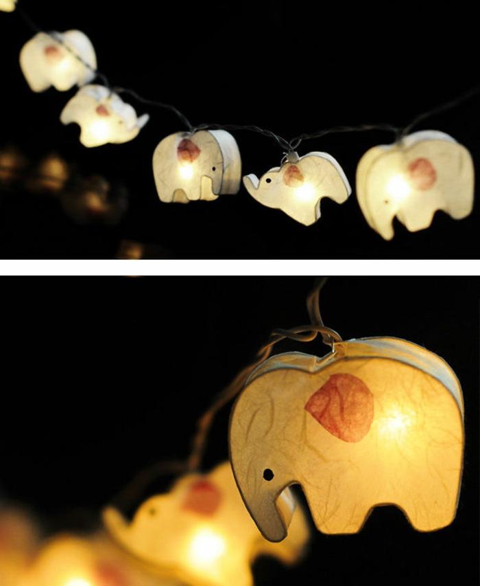 elefanten figuren kreative beleuchtung und deko ideen