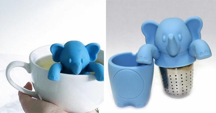 elefanten figuren tee trinken tee ei deko elefant