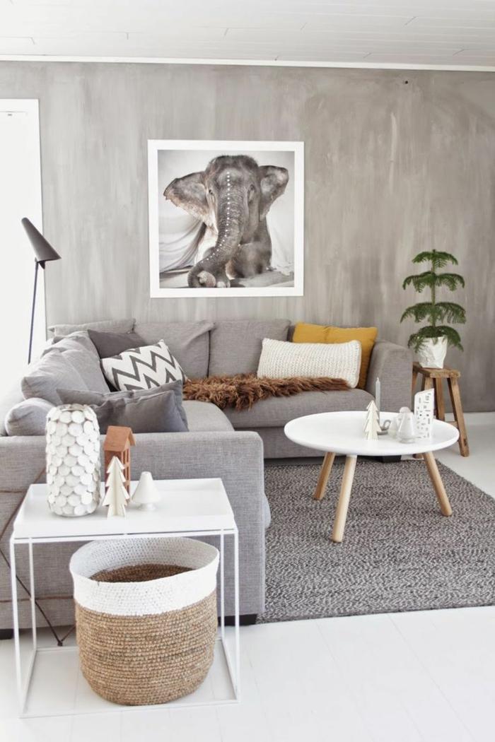 elefanten figuren und dekoartikel wanddekoration