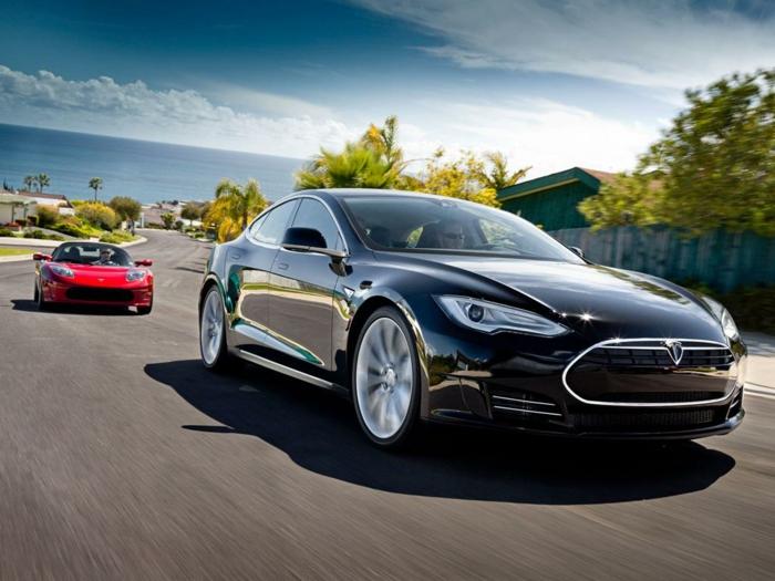 elektroauto moderne technologie innovativ schnell