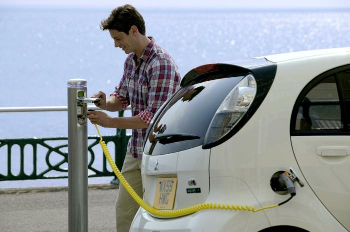 elektroauto strom batterie ladestation umweltfreundlich