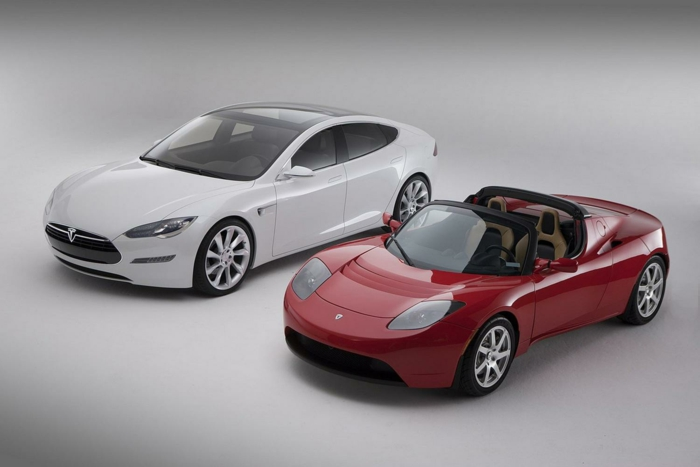 elektroauto tesla model s roadster