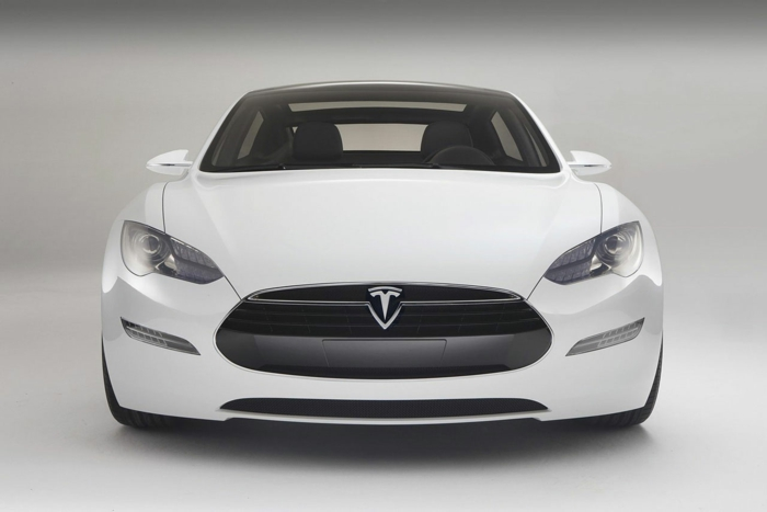 elektroauto tesla model s sedan luxus