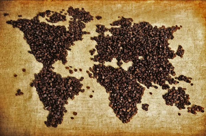 fairtrade schokolade kakao kaffee weltkarte