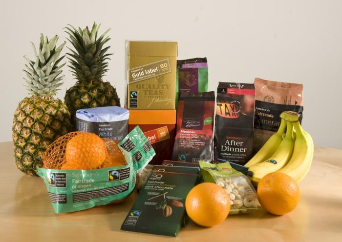 fairtrade schokolade kakao lebensmittel bananen orangen