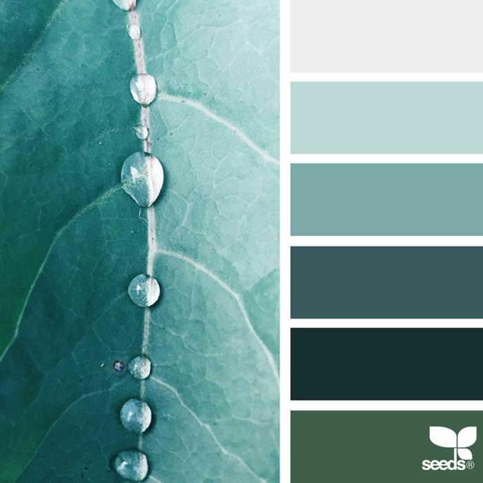 farbpalette color dew farbe tau @gneissmouse