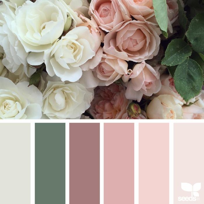farbpalette florale farben @natashakolenko