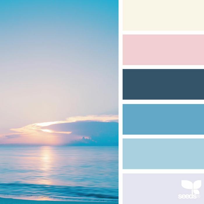 Farbpalette Maritime Farben @ozgecenberci