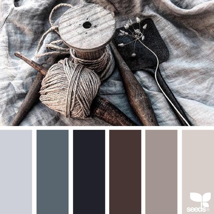 farbpalette rustikale farben @erikadeliadesign