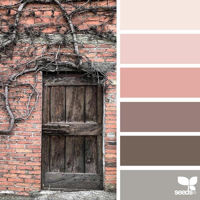 farbtöne warme rustikale farben @erikadeliadesign
