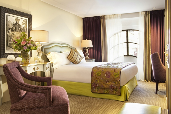 feng shui schlafzimmer geschmeidige möbel weiche texturen