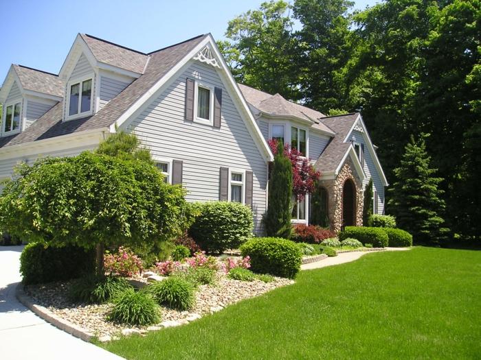 Vorgartengestaltung   schöne ideen, von denen ihr vorgarten nur ...