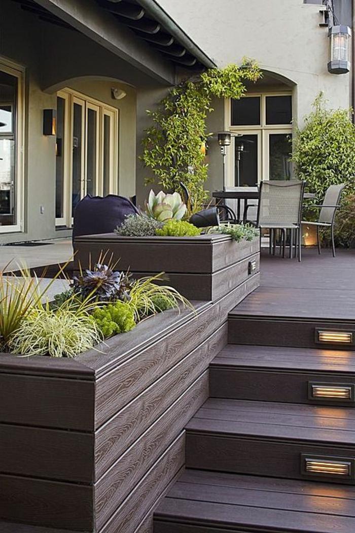 beleuchtung treppen im auenbereich beleuchtung licht im haus osram solar lunartec erset u. Black Bedroom Furniture Sets. Home Design Ideas