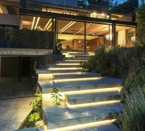 Gartentreppe beleuchten und sie zum Hingucker machen