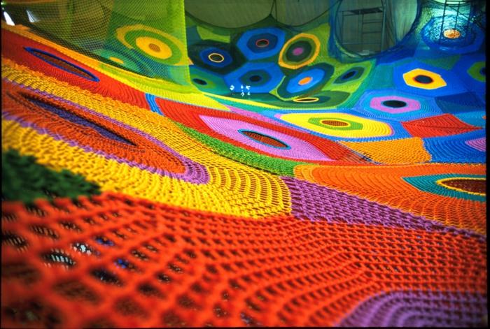 gestrickte kinderspielzeuge kinderspielplatz aus strickwaren