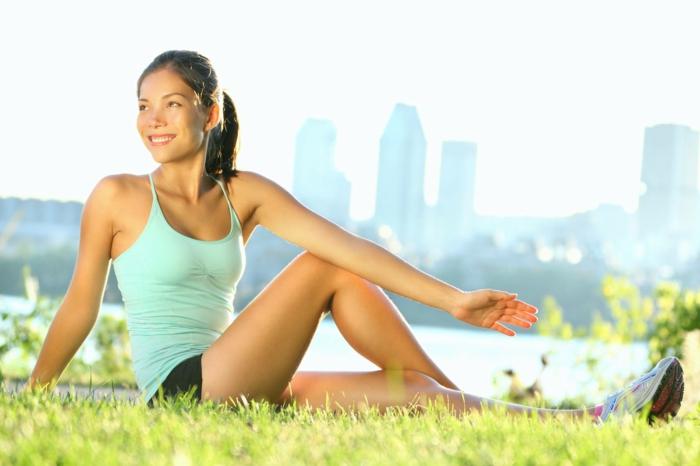 glückliches leben yoga sport meditation