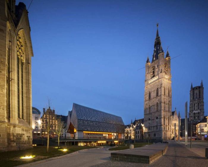 Gotik architektur und moderne gebäude moderne bauten weisen