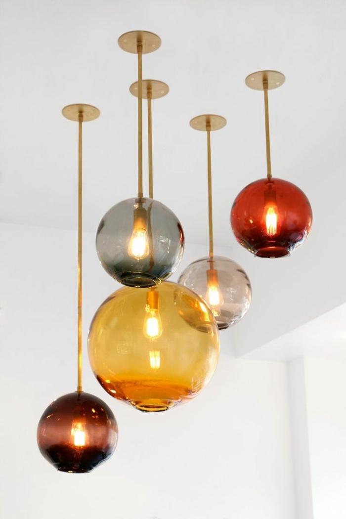 15 H 228 Ngelampen Designs Aus Mundgeblasenem Glas