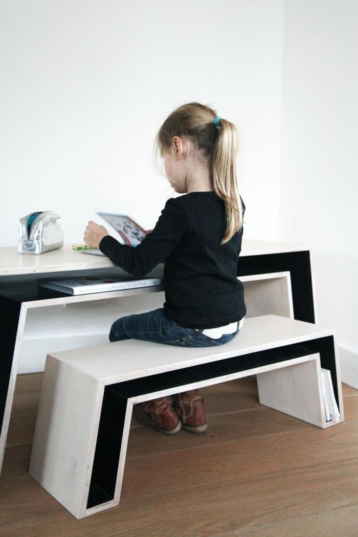 höhenverstellbarer schreibtisch möbel kinderzimmer einrichtungsideen