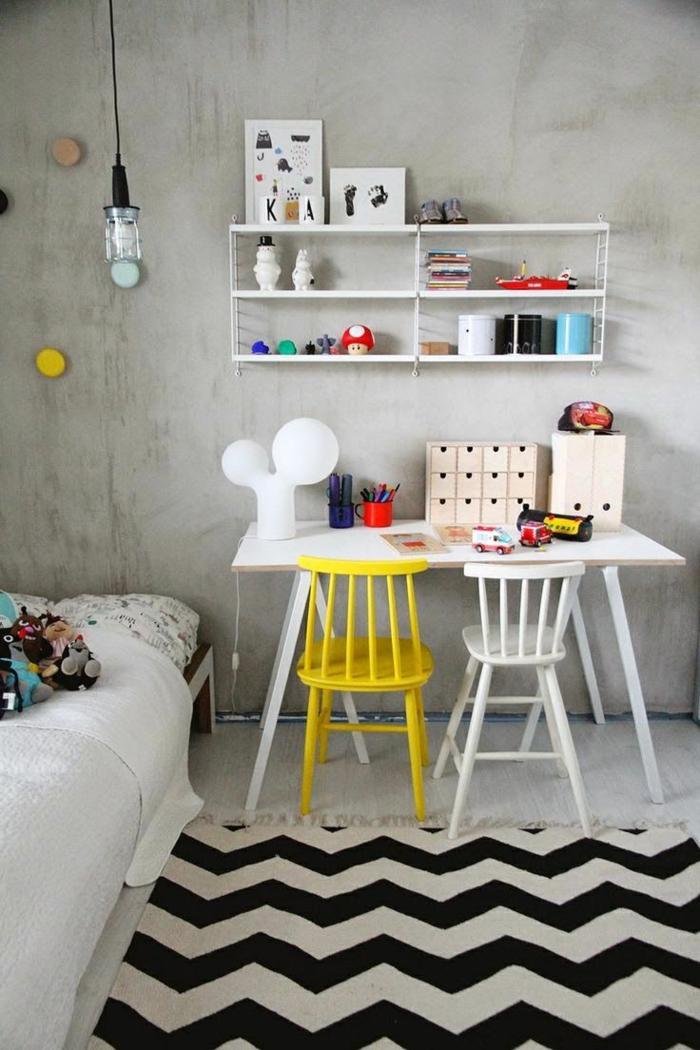höhenverstellbarer schreibtisch möbel kinderzimmer praktisch einrichten