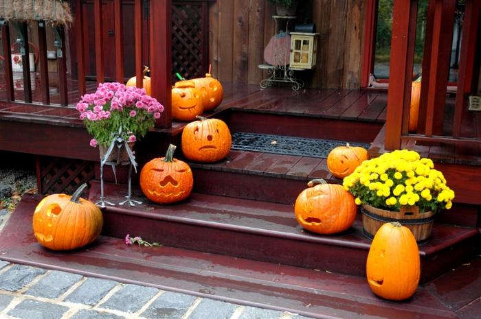 halloween ursprung und halloween ideen mit typischen. Black Bedroom Furniture Sets. Home Design Ideas