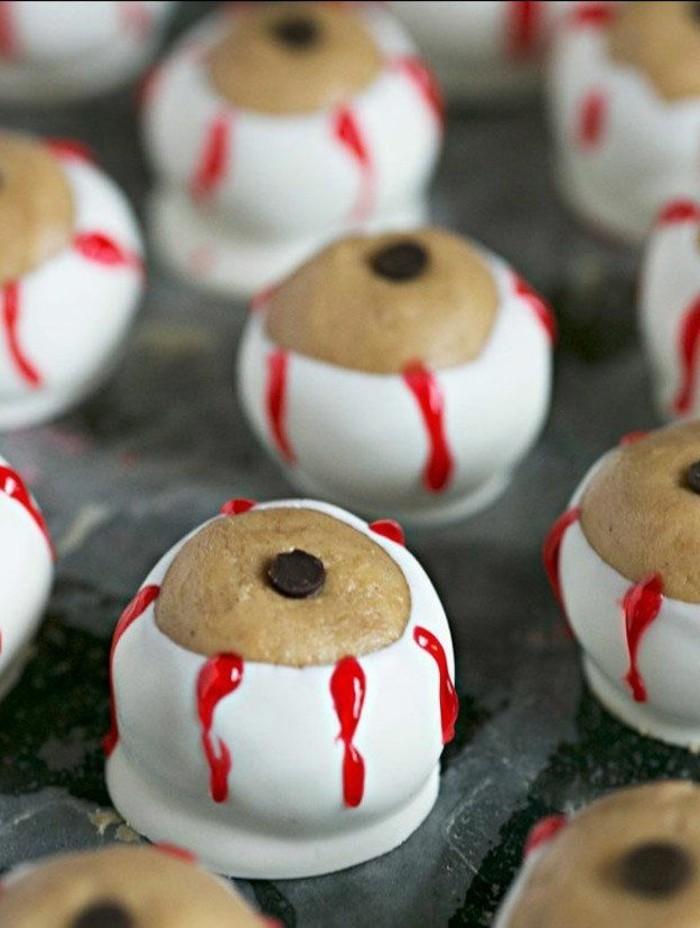halloween essen ideen für ausgefallene mini kuchen