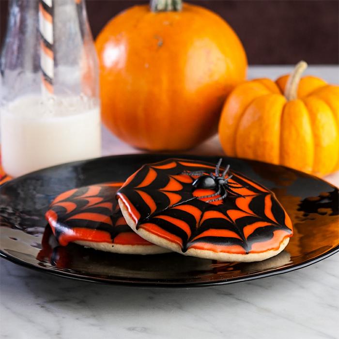 halloween essen originelle gebäck ideen halloween farben