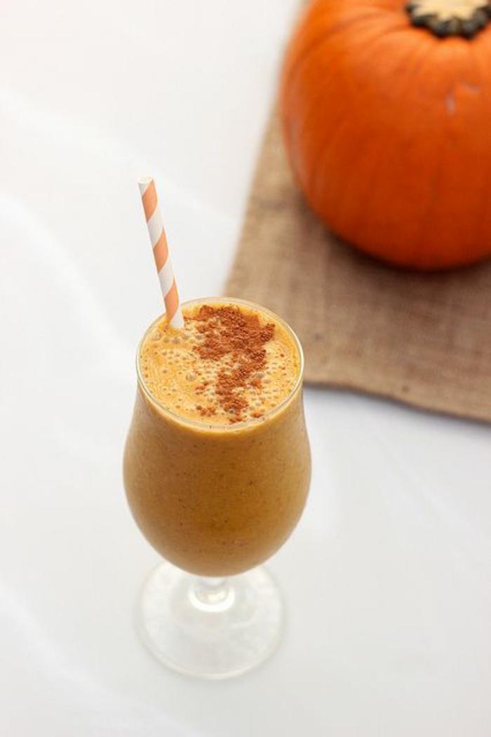 halloween getränke für kinder rezepte kürbis smoothie