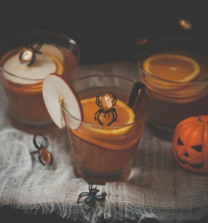 halloween getränke für kinder rezepte kürbis