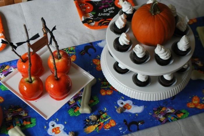 halloween ideen für die festtafel