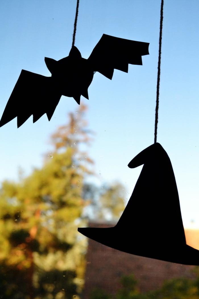 Halloween ursprung und halloween ideen mit typischen symbolen des gruselfestes - Halloween fensterdeko ...