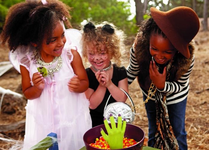 halloween ideen kinderparty kinderspiele lustige dekoideen