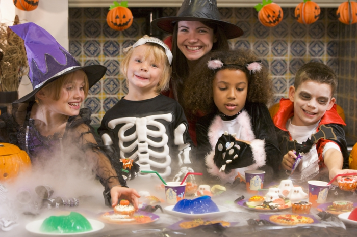 halloween ideen kinderparty organisieren halloween essen