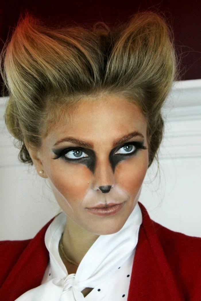 halloween ideen kostüm für frauen fuchs