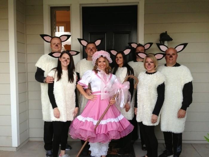 halloween ideen lustige kostüme für erwachsene