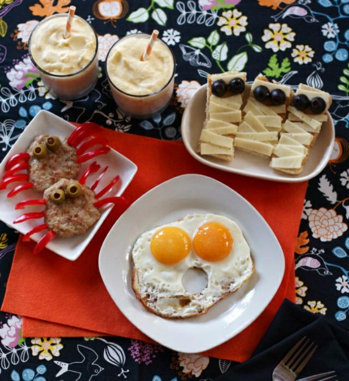 halloween ideen party ideen originelles frühstück