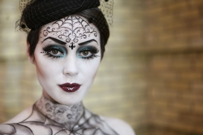 halloween make up ideen frauen schminke