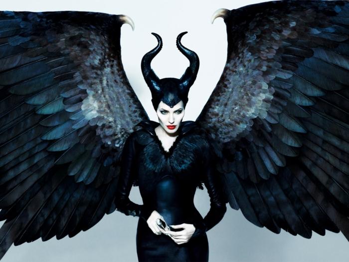 halloween masken hexe maleficent