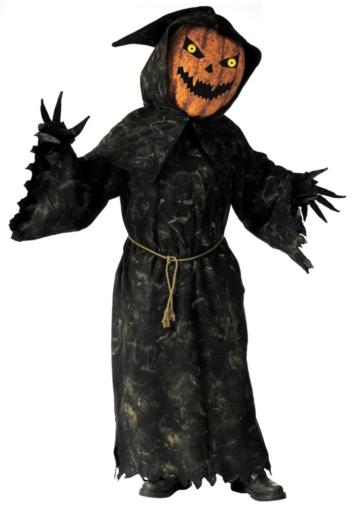 halloween masken kostüme kürbis