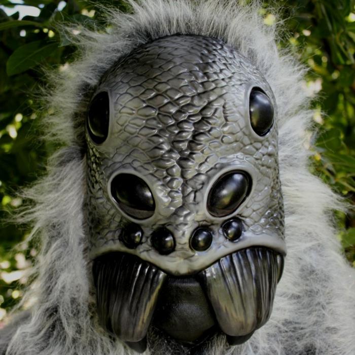 halloween masken spinne