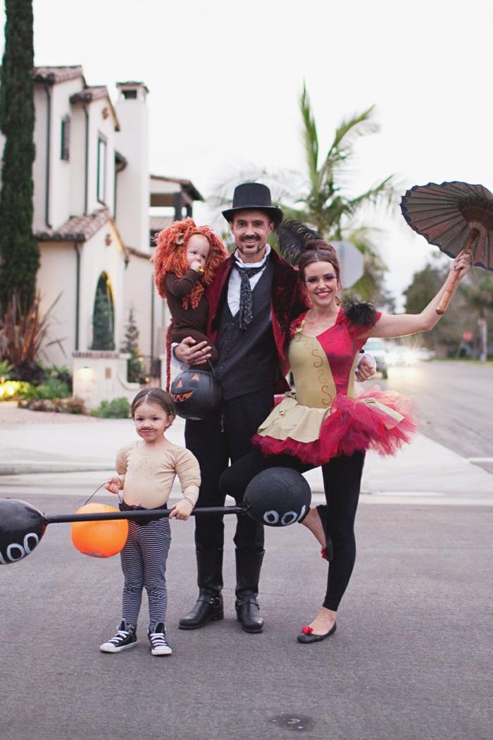 halloween party ideen halloween kostüme zirkus