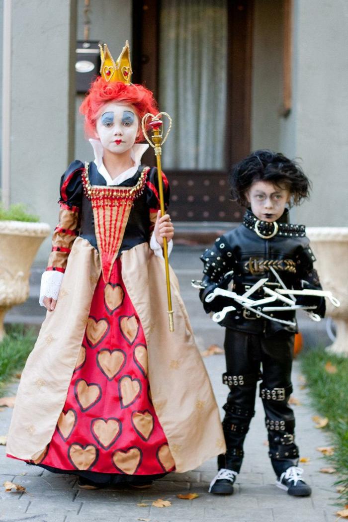 halloween party ideen kinderkostüme mädchen junge