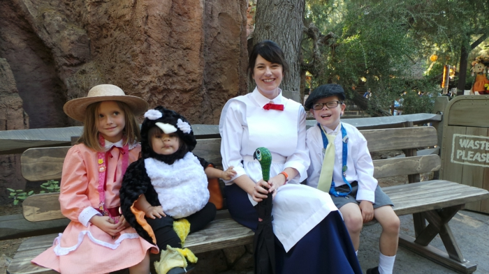 halloween party ideen mary poppins familie